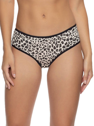 So Smooth Low Rise Modal Hipster color-cheetah
