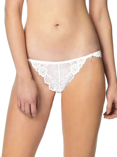 Jezebel Caress Too Thong color-white