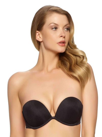 Felina Bra of the year Seamless Strapless Bra color-black