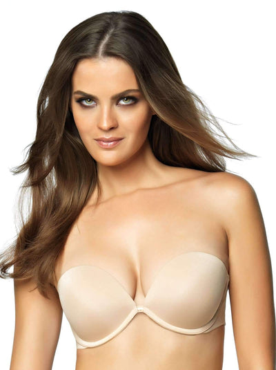 Felina Bra of the year Seamless Strapless Bra color-fawn
