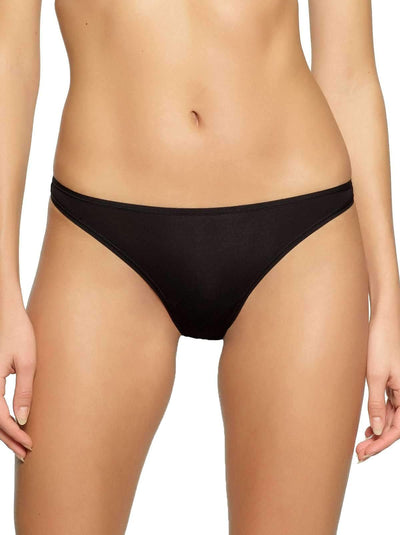Felina So Smooth Low Rise Bikini 10-Pack color-black fawn combo