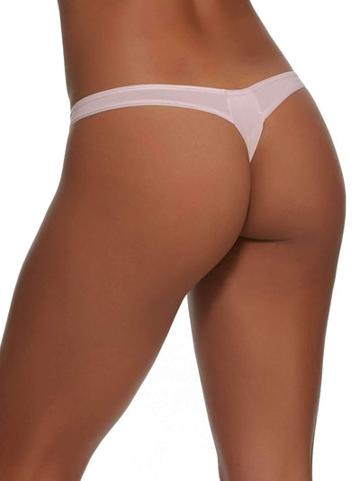 Felina Sublime Thong back shot color-rosewater
