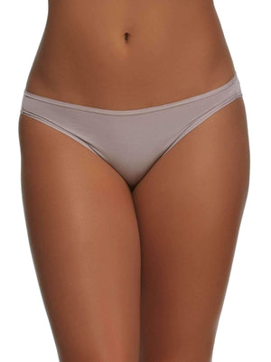Felina Sublime Low Rise Bikini color-gull grey