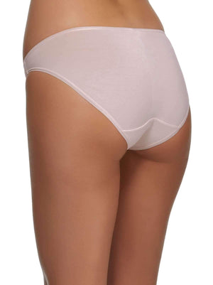 Felina Sublime Hi Cut Brief back shot color-rosewater