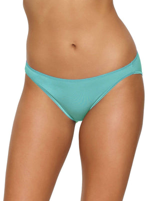 Felina So Smooth Modal Low Rise Bikini color-blue turquoise