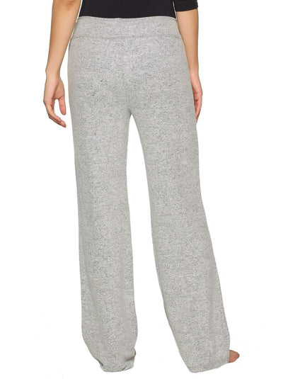 Felina Victoria Lounge Pant back shot color-heather gray