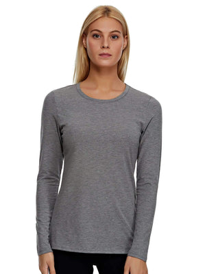 medium heather gray white