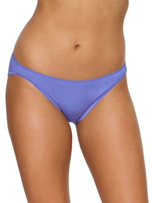 Felina So Smooth Modal Low Rise Bikini color-violet storm