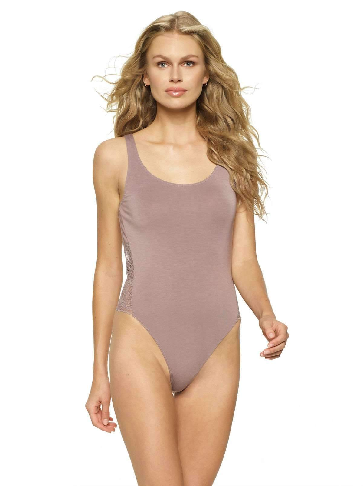 283aa1378 Finesse Modal Bodysuit With Lace Back