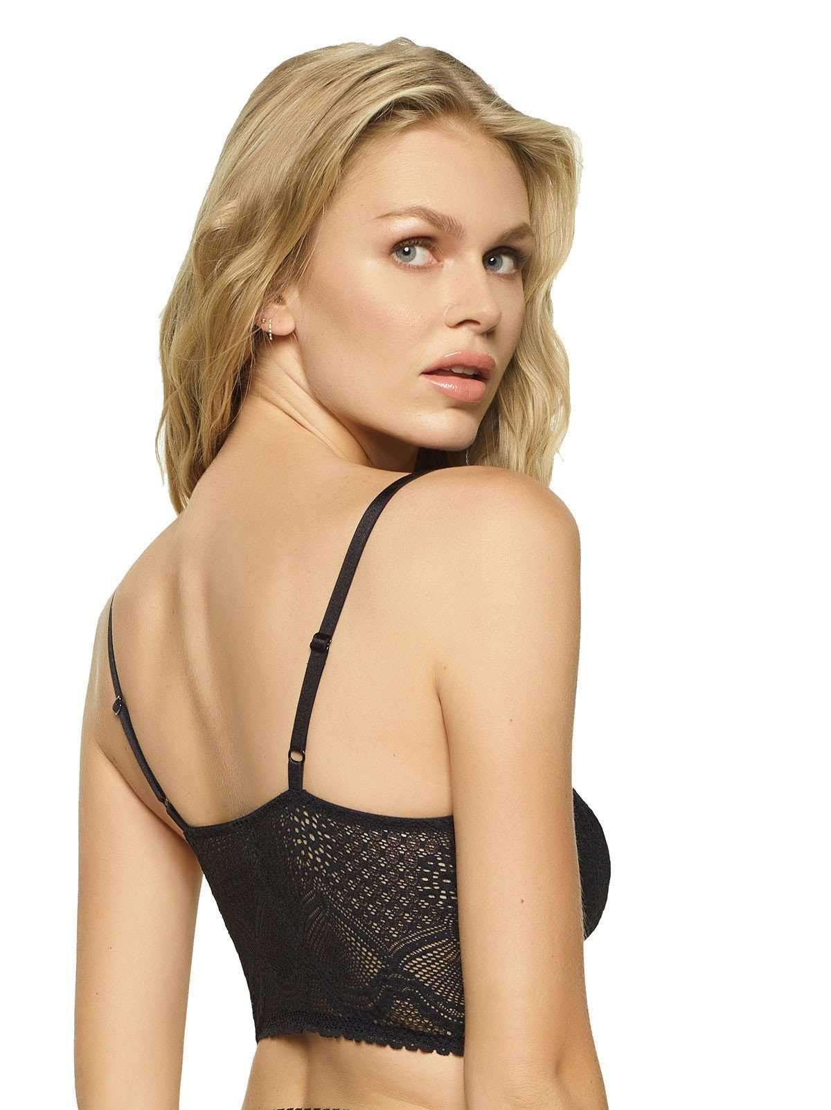 Felina Finesse Cami Bralette color-black