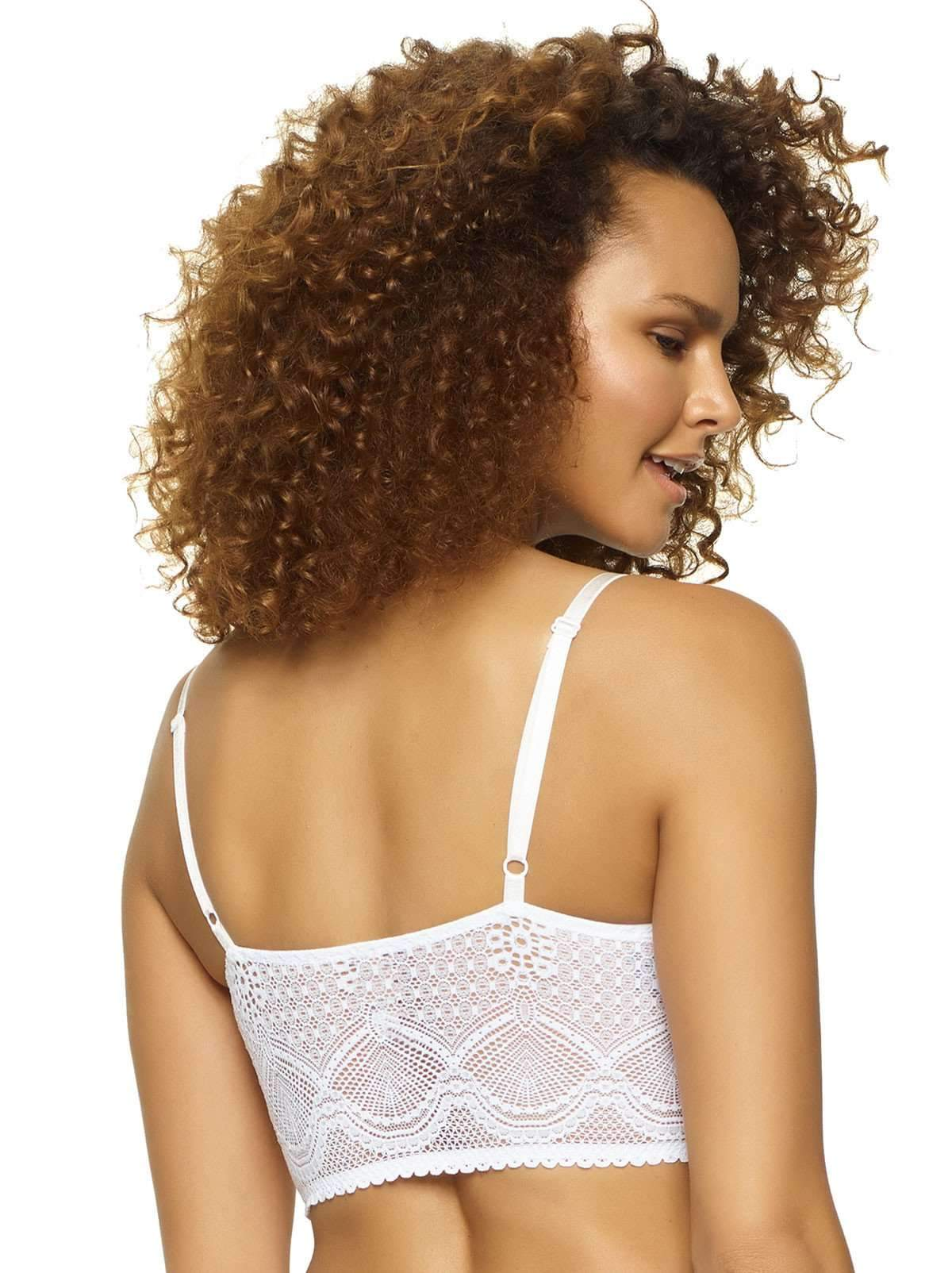 Felina Finesse Cami Bralette color-white