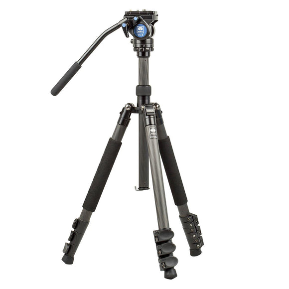 Sirui ET-1204 VA-5 Fluid Head Tripod Kit by Sirui | Optics - goHUNT Shop