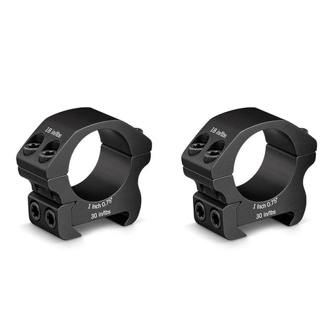 "Vortex Pro Series 1"" Scope Rings"