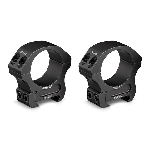 Vortex Pro Series 30mm Scope Rings