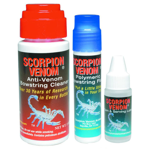 Scorpion Venom 3 Star Maintenance Kit by Scorpion Venom Archery | Archery - goHUNT Shop