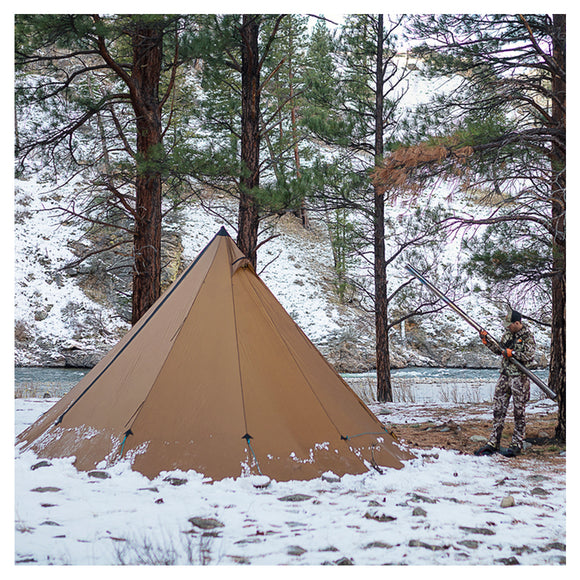 Seek Outside 8 Person Tipi Shelter by Seek Outside | Camping - goHUNT Shop