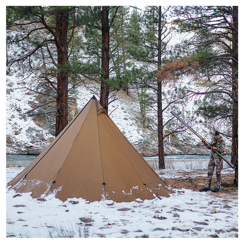 Seek Outside 8 Person Tipi by Seek Outside | Camping - goHUNT Shop