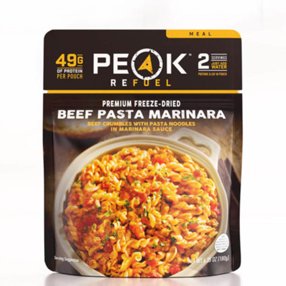 Peak Refuel Beef Pasta Marinara by Peak Refuel | Camping - goHUNT Shop