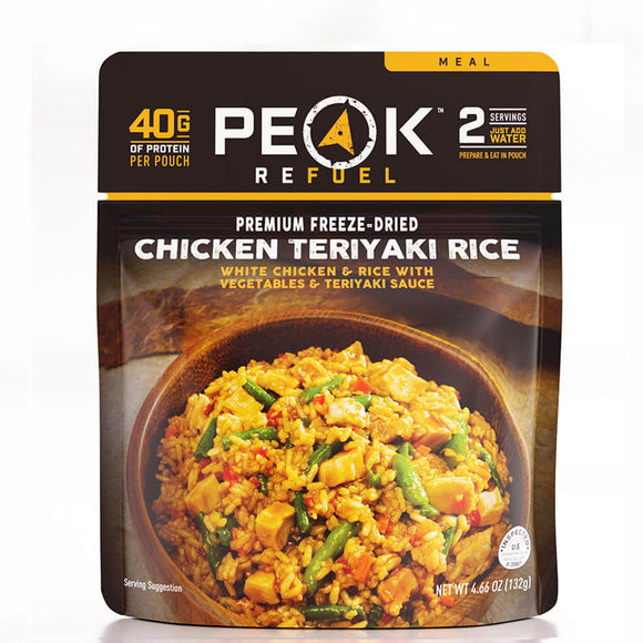 Peak Refuel Chicken Teriyaki & Rice by Peak Refuel | Camping - goHUNT Shop
