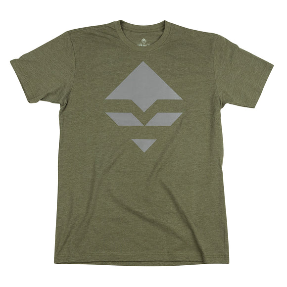 goHUNT Green & Gray T-Shirt by goHUNT | Apparel - goHUNT Shop