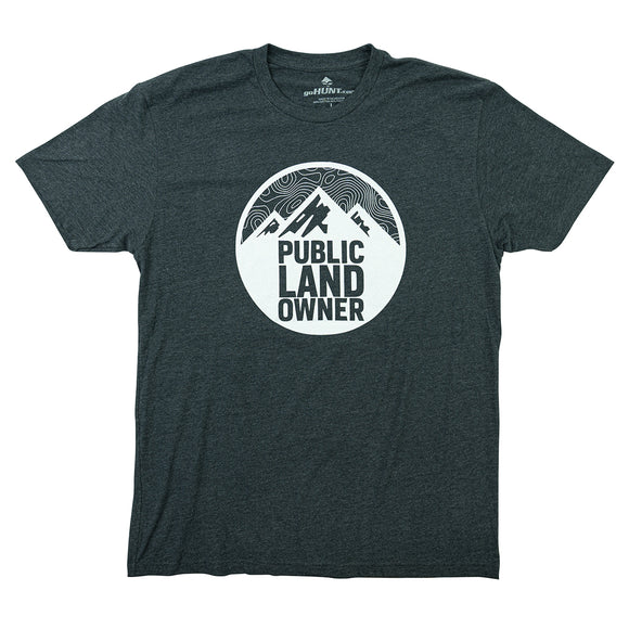 Public Land Owner T-Shirt (Special Edition) by goHUNT | Apparel - goHUNT Shop