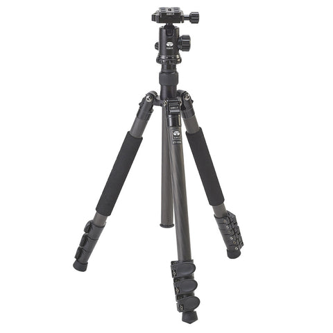 Sirui ET-1204 Carbon Fiber Tripod w/ E-10 Ball Head - goHUNT Shop