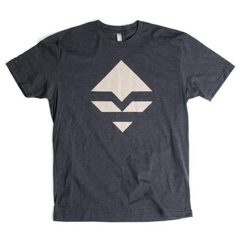 goHUNT Charcoal & Cream T-Shirt by goHUNT | Apparel - goHUNT Shop