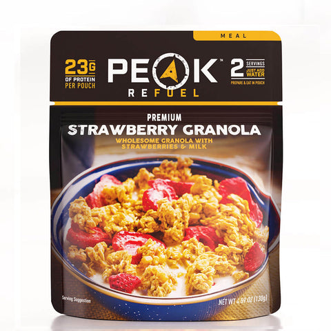 Peak Refuel Strawberry Granola by Peak Refuel | Camping - goHUNT Shop