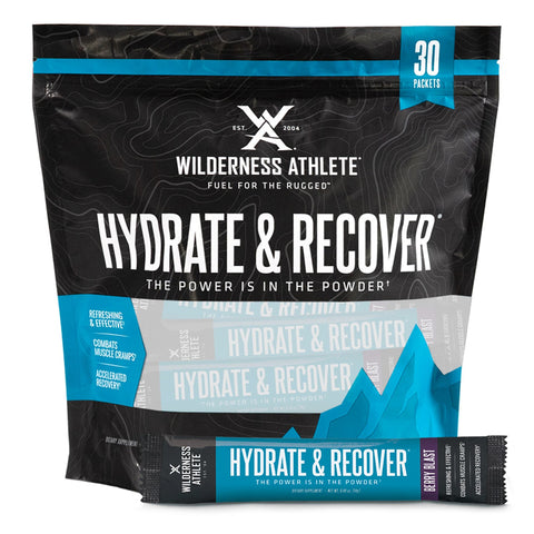Wilderness Athlete Hydrate and Recover Packets
