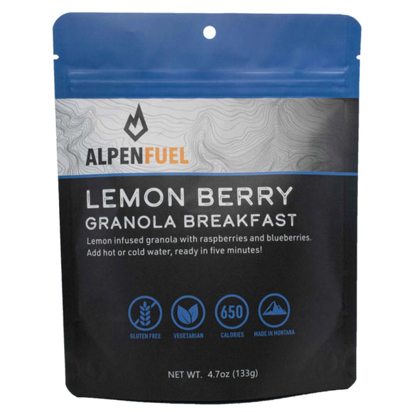 Alpen Fuel Lemon Berry Breakfast Granola