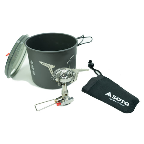 Soto New River Pot + Amicus Stove System