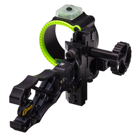 Black Gold Ascent Verdict Single Pin Bow Sight by Black Gold | Archery - goHUNT Shop