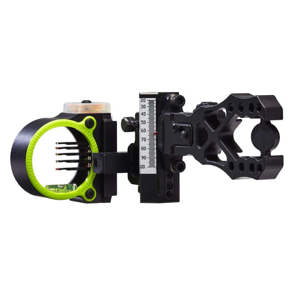 Black Gold Ascent Verdict 5 Pin Bow Sight by Black Gold | Archery - goHUNT Shop
