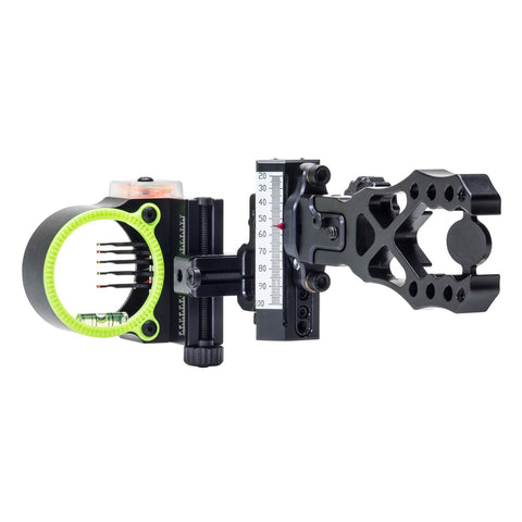 Black Gold Ascent Verdict Assault 5 Pin Bow Sight by Black Gold | Archery - goHUNT Shop