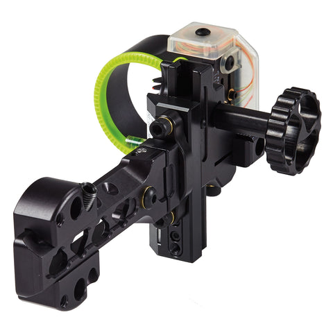 "Black Gold Ascent Verdict 4"" Dovetail 5 Pin Bow Sight by Black Gold 