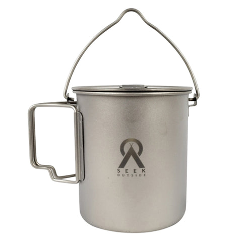 Seek Outside Titanium Bail Handle Mug by Seek Outside | Camping - goHUNT Shop