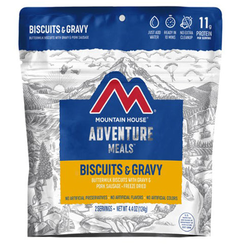 Mountain House Biscuits & Gravy by Mountain House | Camping - goHUNT Shop