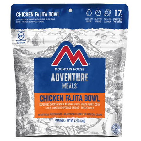 Mountain House Chicken Fajita Bowl by Mountain House | Camping - goHUNT Shop