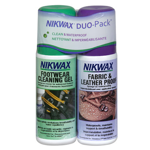 Nikwax Fabric and Leather Proof Duo Pack