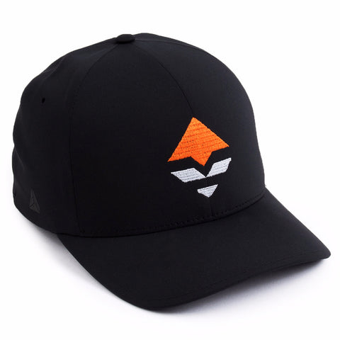 goHUNT Flexfit Performance Black Delta Hat