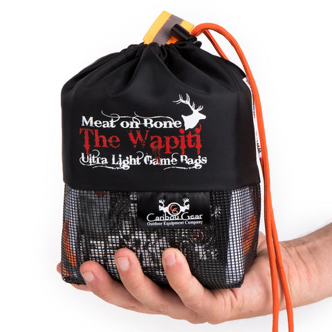 "Caribou Gear ""The Wapiti Meat on Bone"" Ultra Light Game Bag Set by Caribou Gear 