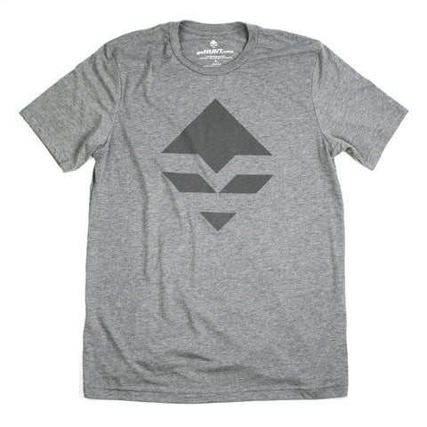 goHUNT Grey & Dark Grey T-Shirt