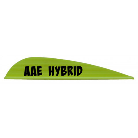 AAE Hybrid 26 Arrow Vanes - 100 Pack by AAE | Archery - goHUNT Shop