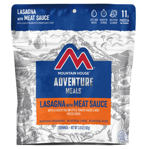 Mountain House Lasagna with Meat Sauce by Mountain House | Camping - goHUNT Shop
