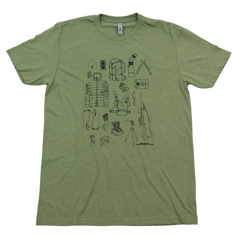 goHUNT Late Season Gear T-Shirt by goHUNT | Apparel - goHUNT Shop