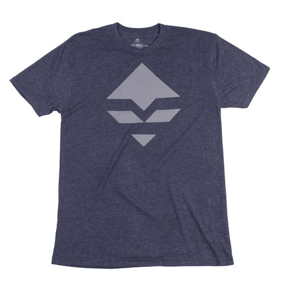 goHUNT Light Navy & Grey T-Shirt by goHUNT | Apparel - goHUNT Shop