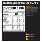 Peak Refuel Mountain Berry Granola by Peak Refuel | Camping - goHUNT Shop