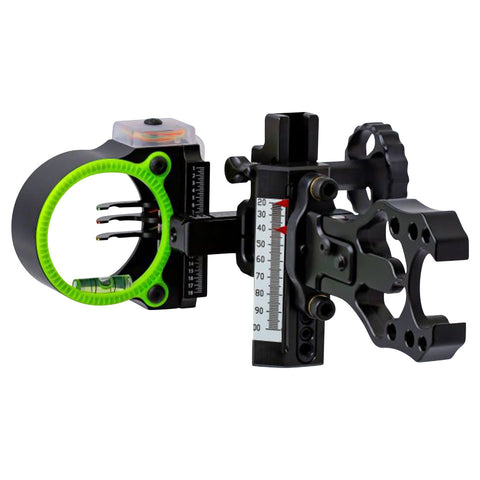 Black Gold Ascent Mountain Lite 3 Pin Bow Sight by Black Gold | Archery - goHUNT Shop