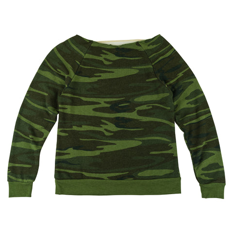 goHUNT Women's Off-the-Shoulder Sweatshirt by goHUNT | Apparel - goHUNT Shop