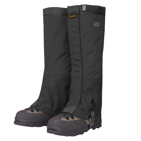 Outdoor Research Crocodile Gaiter - Black - goHUNT Shop